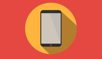 Flat Iphone 6 Plus (Round) by GrubyKisiel