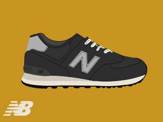 New Balance M574NK by GrubyKisiel
