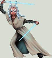 Togruta Jedi by ArienRavyn