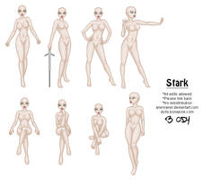 Stark Base Set by ArienRavyn