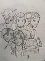 Star Wars: Rebels - Ghosts by JediKnight97