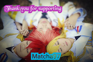 Thank you for supporting!! by Matcha97
