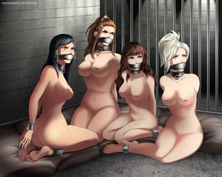 Overwatch Girls by eiqe