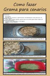 Como fazer grama para cenarios by augustelos