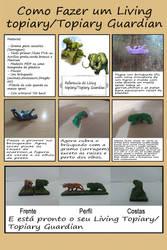 Como fazer um Living Tropiary ou Topiary Guardian by augustelos