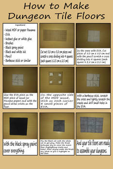 How to make Dungeon tile floors by augustelos