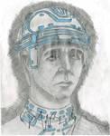 Kevin Flynn Fan Art (signed) by Taqresu650