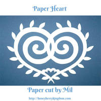 Paper Heart 3 by honeymil