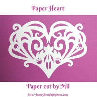 Paper Heart 4 by honeymil