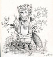 Little Fox by honeymil