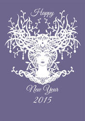 Happy New year 2015 by honeymil