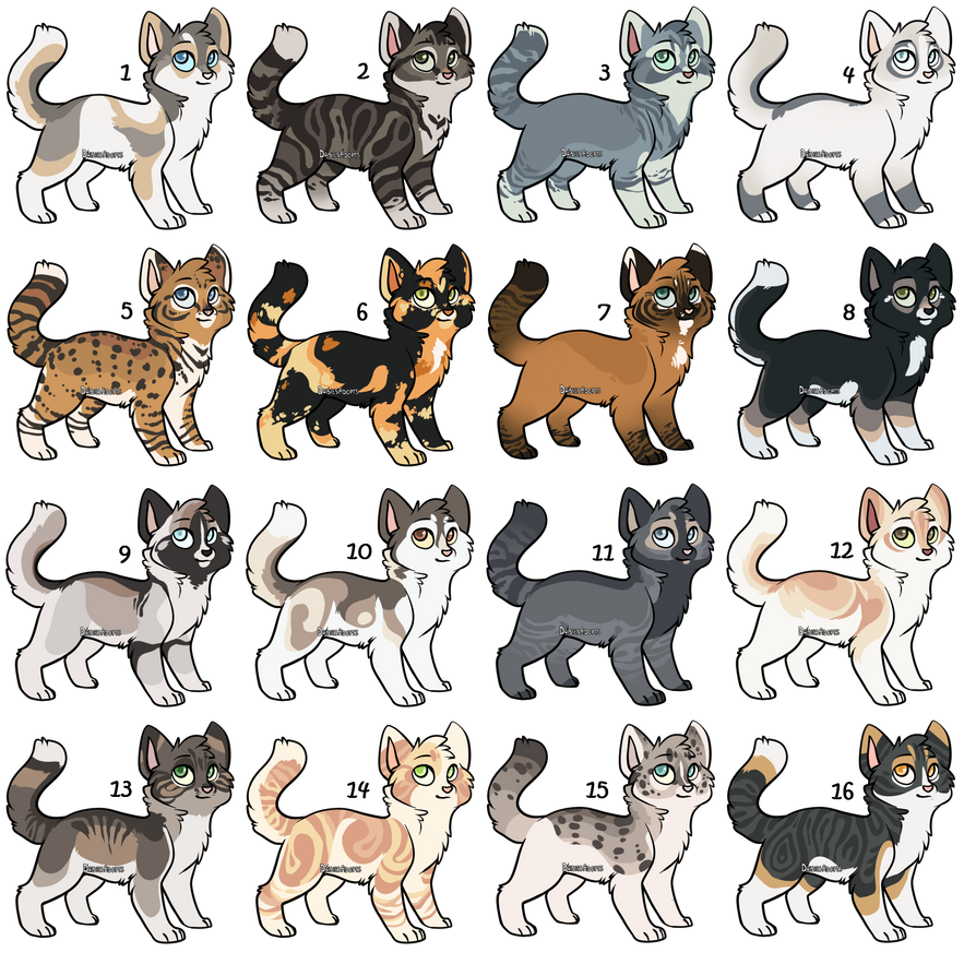 Warrior cats adoptables online