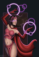 Scarlet Witch by ShortFocus