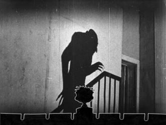Cassie Watches Nosferatu by serizawa3000