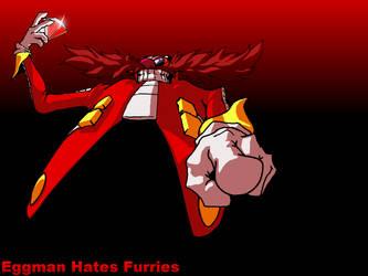 Fan Game: Eggman Hates Furries by Oddwarg