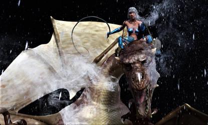 Dragon Rider by medievalpirate