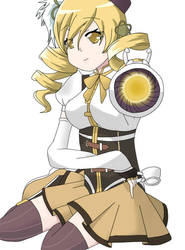 Tomoe Mami by FluffyandPuff
