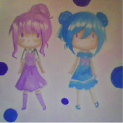My first water color by Miyuchi12