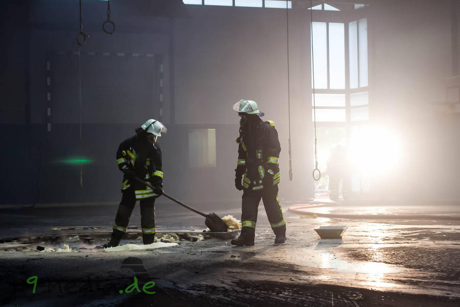 German fire fighter by RescueWolf