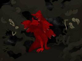 Anger by maruhana-bachi