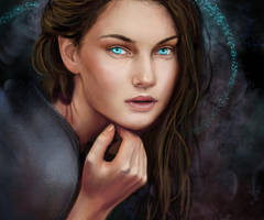 Blue-eyed Witch by H4Y13Y