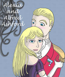 Alexia and Alfred Ashford by QueenSquirrel