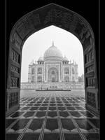 Taj Mahal by Stilfoto