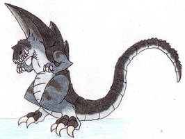 Gammadon by DinoHunter2