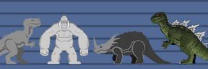 G0: Godzilla on Skull Island by DinoHunter2
