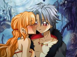 Mermaid Melody OC:  Fukami et Gaito by Tamashi-Miko