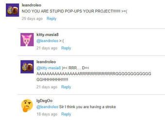Weird/Funny Comments #5 (Scratch) by DrNanaDeviantart