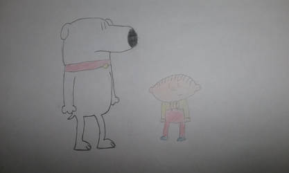 Brian and Stewie  by DrNanaDeviantart