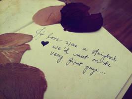 If Love was a Storybook by feedmecheesy