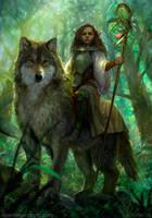 Forest princess by VargasNi
