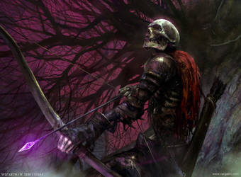 Skeleton Archer MTG by VargasNi