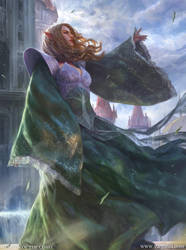 Emmara, Soul of the Accord MTG by VargasNi