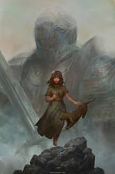 The hero's daughter by VargasNi