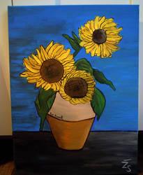 Sunflowers by Kresli