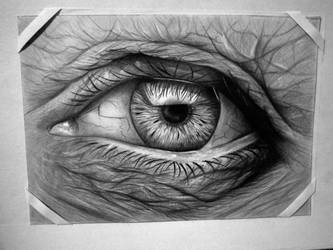 Wise, Old Eye by Kresli