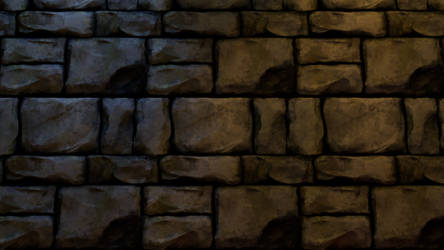 3D texture Stone Wall by moxomo