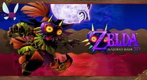 Majoras Mask 3d Wallpaper Happy Mask Salesman 2 By Dakidgaming On
