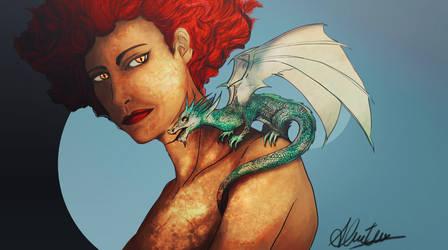 Dragon Girl by Kamishiro-Yuki
