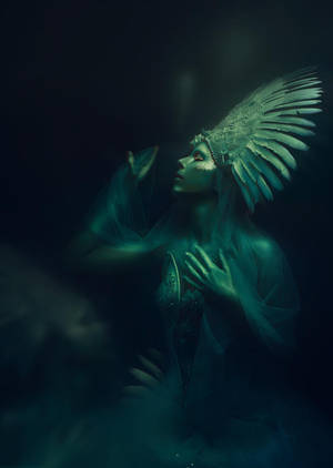 A Lost Angel by MuseInBlack