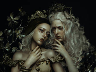 Concubines by MuseInBlack