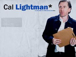Cal Lightman Wallpaper by Jackolyn