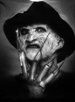 Freddy Krueger Airbrush by Jackolyn