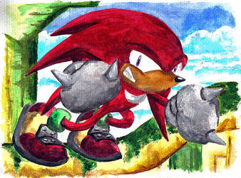 Knuckles the Echidna by supersonikku