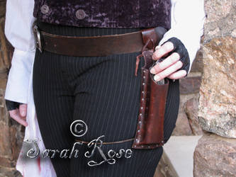 Sweeney Todd Razor Holster by LeavingForParis
