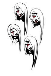 Bloody Mary headshots by FireflyDelilah