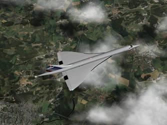 Supersonic Jet by flightlevel-380